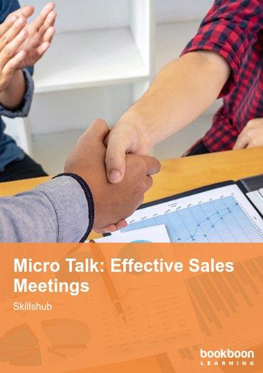 Micro Talk: Effective Sales Meetings