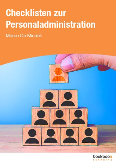 Checklisten zur Personaladministration