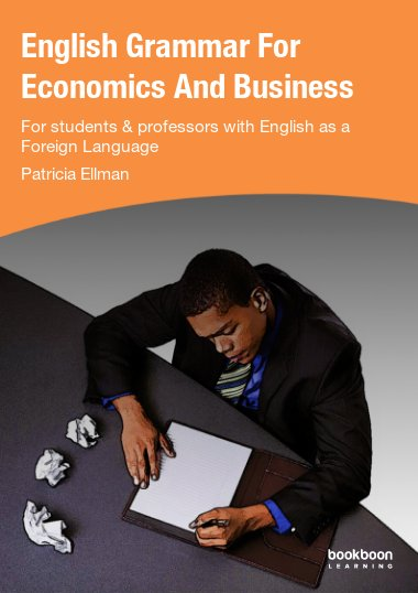 English Grammar For Economics And Business