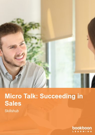 Micro Talk: Succeeding in Sales