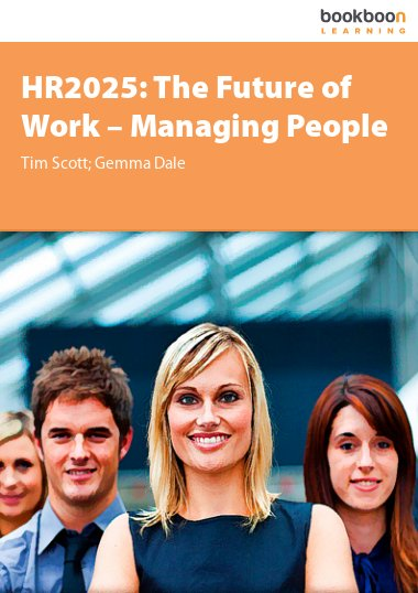 HR 2025: The Future of Work – Managing People