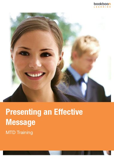 Presenting an Effective Message