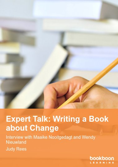Expert Talk: Writing a Book about Change