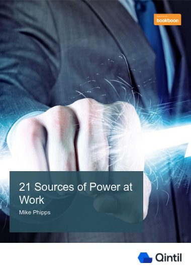 21 Sources of Power at Work