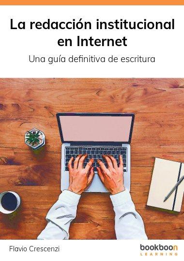 La redacción institucional en Internet