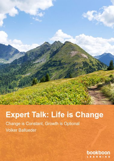 Expert Talk: Life is Change