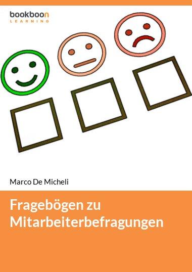 Fragebögen zu Mitarbeiterbefragungen
