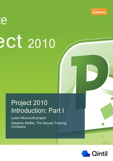 Project 2010 Introduction: Part I