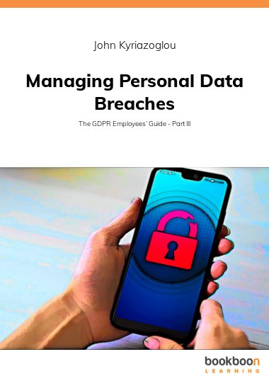 Managing Personal Data Breaches