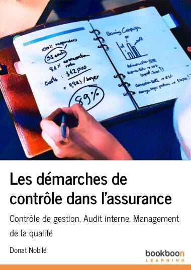 Les démarches de contrôle dans l'assurance