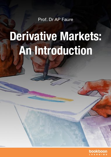 Derivative Markets: An Introduction