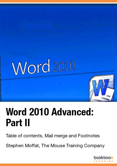 Word 2010 Advanced: Part II