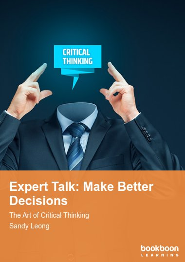 Expert Talk: Make Better Decisions