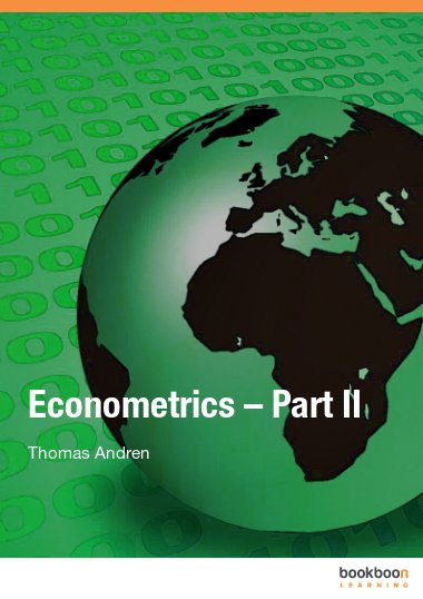 Econometrics – Part II