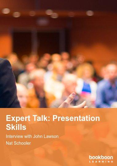 Expert Talk: Presentation Skills