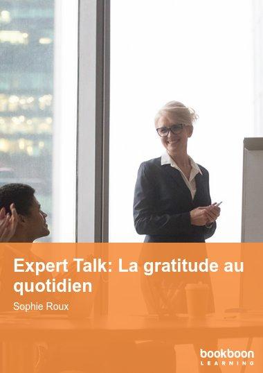 Expert Talk: La gratitude au quotidien