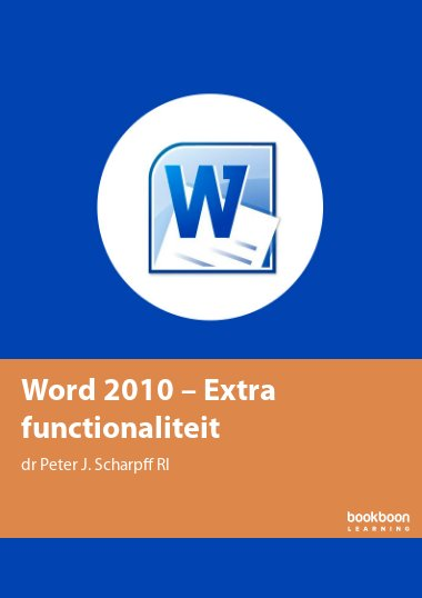 Word 2010 – Extra functionaliteit