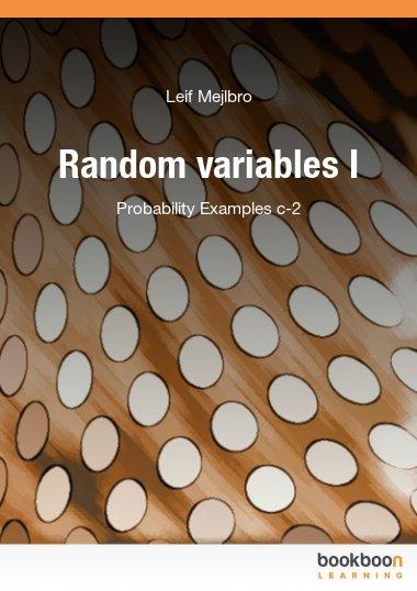 Random variables I