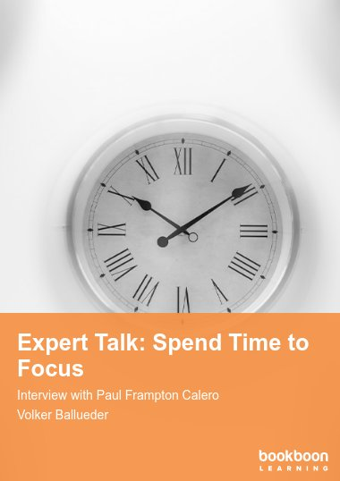 Expert Talk: Spend Time to Focus