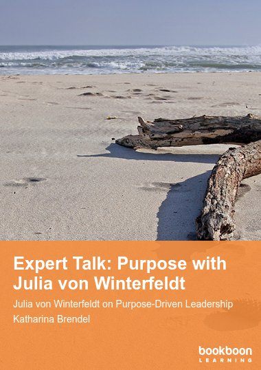 Expert Talk: Purpose with Julia von Winterfeldt