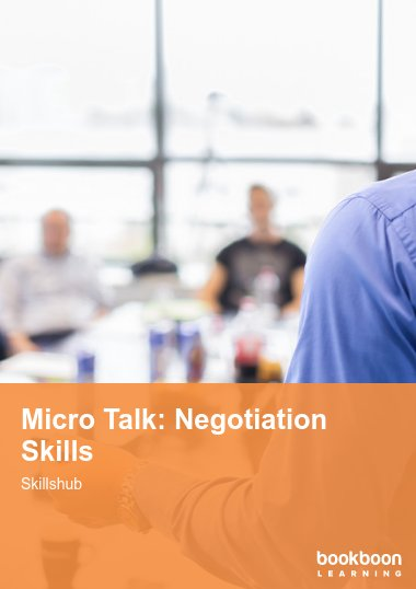Micro Talk: Negotiation Skills