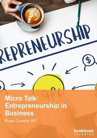 Micro Talk: Entrepreneurship in Business