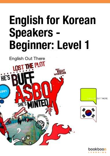 English for Korean Speakers - Beginner: Level 1