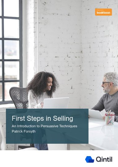 First Steps in Selling