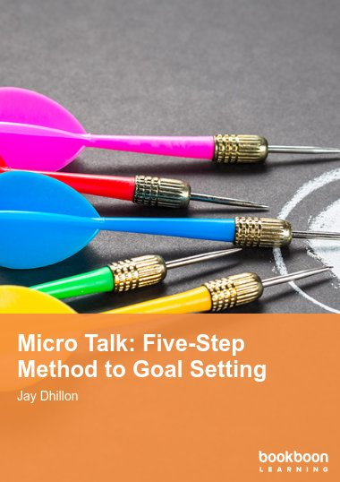 Micro Talk: Five-Step Method to Goal Setting