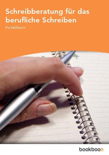 Schreibberatung für das berufliche Schreiben