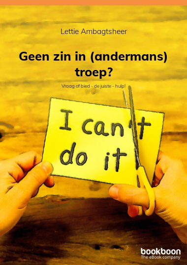 Geen zin in (andermans) troep?