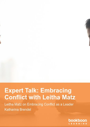 Expert Talk: Embracing Conflict with Leitha Matz