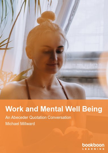 Work and Mental Well Being