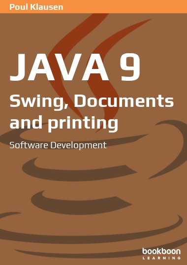 Java 9: Swing, Documents and printing