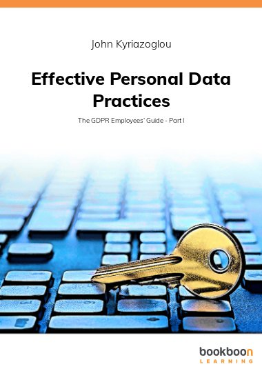 Effective Personal Data Practices