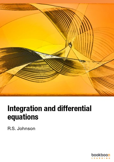 Integration and differential equations