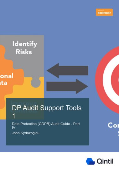 DP Audit Support Tools 1