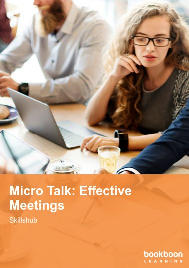 Micro Talk: Effective Meetings