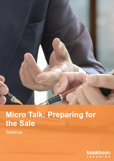 Micro Talk: Preparing for the Sale