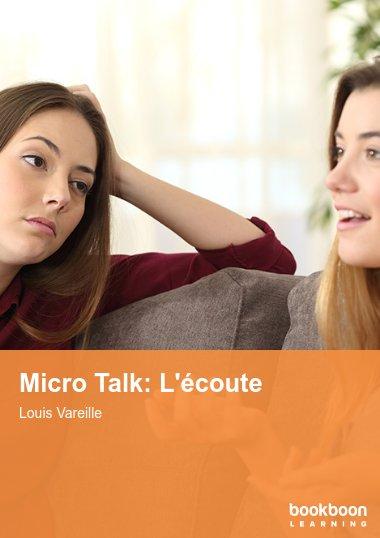 Micro Talk: L'écoute