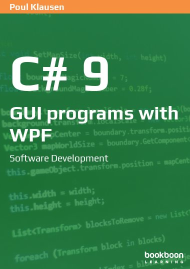 C# 9: GUI programs with WPF