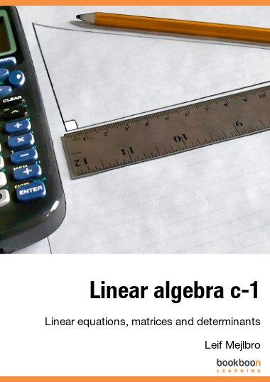 Linear algebra c-1