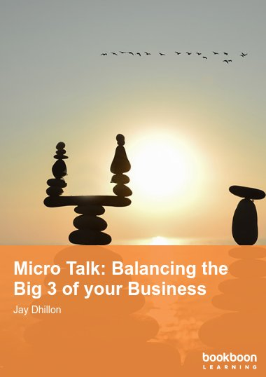Micro Talk: Balancing the Big 3 of your Business
