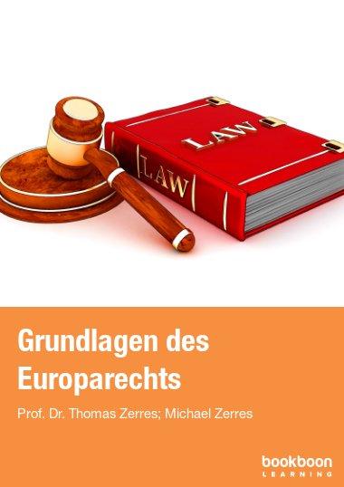 Grundlagen des Europarechts