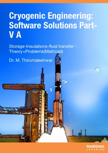 Cryogenic Engineering: Software Solutions Part-V A