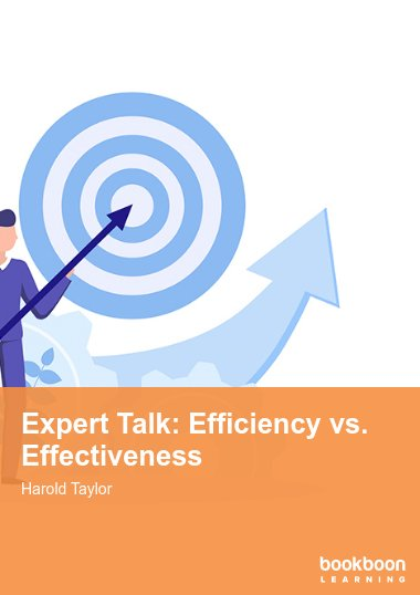 Expert Talk: Efficiency vs. Effectiveness