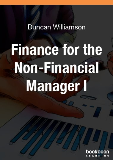 Finance for the Non-Financial Manager I