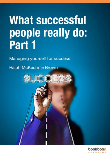 What successful people really do: Part 1