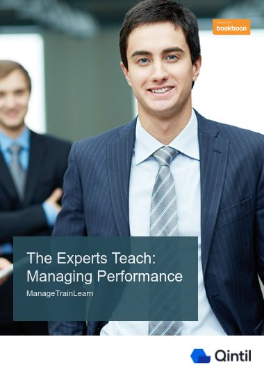 The Experts Teach: Managing Performance