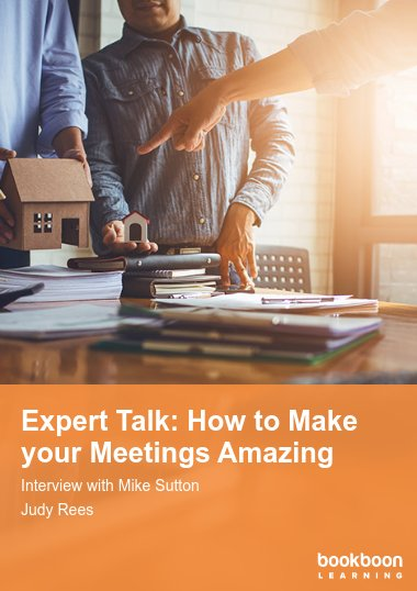 Expert Talk: How to Make your Meetings Amazing